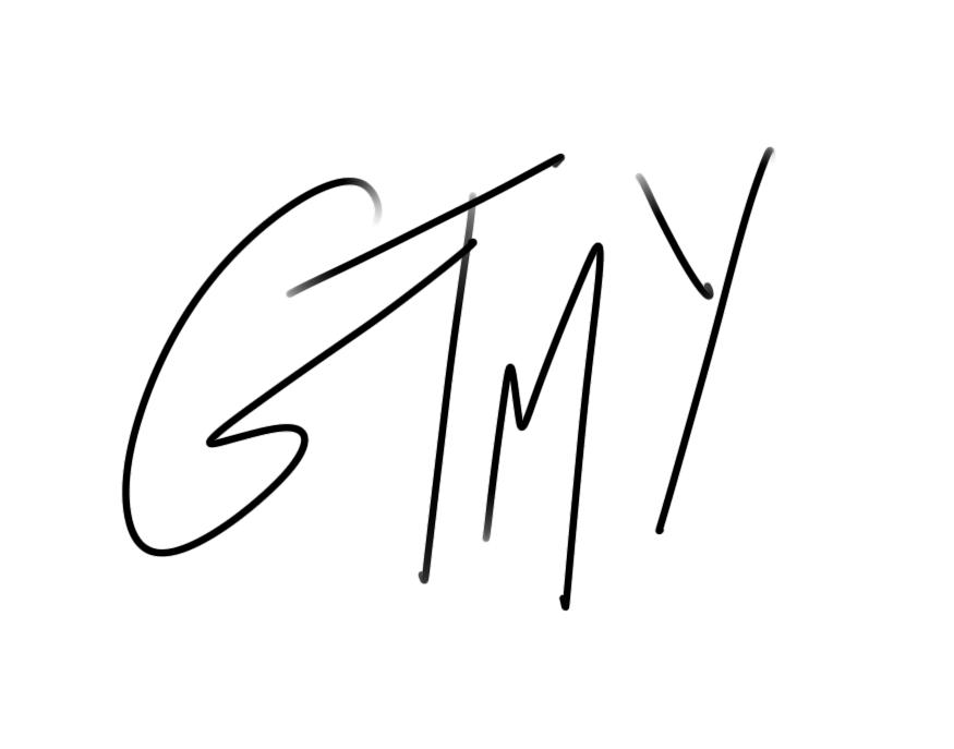 Signature de l'artiste Gladystomeetyou