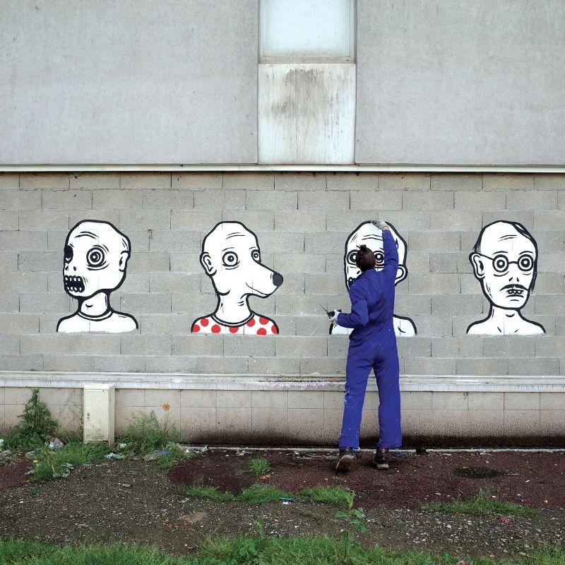 portrait artiste VANGART de Yandy Graffer